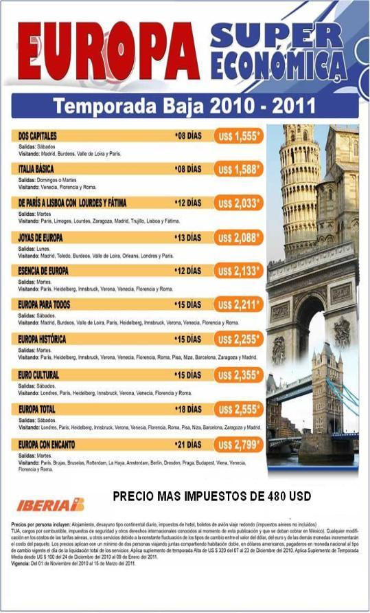 Paquetes y ofertas de viajes por europa baratos autos post - Viaje a zanzibar todo incluido ...
